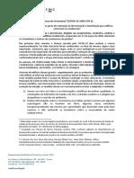 Nota técnica para edifícios residenciais e comerciais - COVID-19