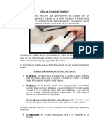 Trabajo marco juridico 1 - letra de cambio