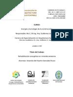 T.P.  de especializacion en arquitectura sustentable