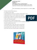 Caperucita Roja y Abuelita Detectives Privados Primera parte 2°B