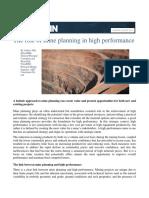 Role of Mine Planning - Hall