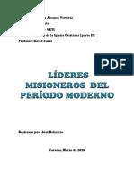 LÍDERES DEL PERÍODO MODERNO