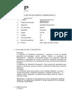 ESTADISTICA EMPRESARIAL I-2020-1