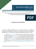 Jurisprudência em Teses 131 - Compilado Lei de Drogas
