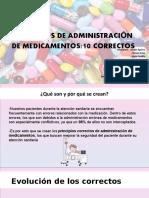 PRINCIPIOS DE ADMINISTRACIÓN DE MEDICAMENTOS