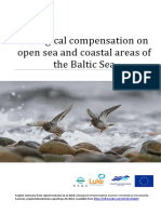Ecological compensation on open sea and coastal areas of the Baltic Sea