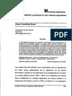 Fernández Bravo, Álvaro. Memorias materiales. Tradición y amnesia en dos museos argentinos.pdf