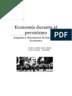 economia durante el peronismo