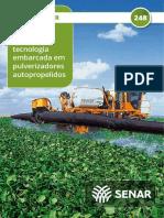 Senar - Agricultura de precisão - Tecnologia embarcada em pulverizadores autopropelidos