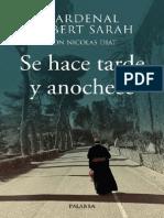 Sarah Robert - Se Hace Tarde Y Anochece