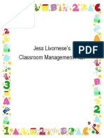 classroom managment guide - jess livornese