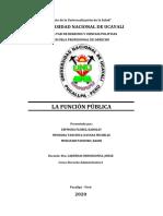 MONOGRAFIA FUNCION PUBLICA