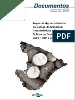 Aspectos Agroeconômicos da Cultura da Mandioca