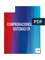 comprobacion de sistema common rail