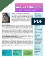 st germans newsletter - 29 march 2020 lent 5