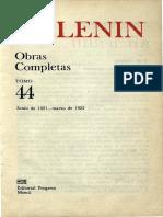Obras completas. Tomo 44 (junio 1921 - marzo 1922) - Vladimir I. Lenin.pdf