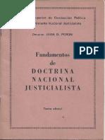 Fundamentos de doctrina Nacional Justicialista.pdf