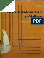 Administración Pública - Dwigt Waldo - Editorial Trillas (1)
