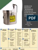 modelo de negocios - respirador plasma