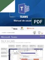 Manual de Usuario Teams