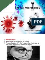 Experiment (2) Microscopy.