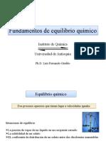 Fundamentos de equilibrio qumico