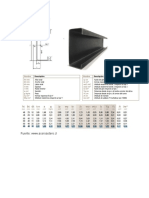 Perfil estructural tipo C