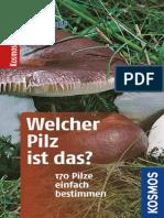 Flueck, Markus - Welcher Pilz ist das¿ 170 Pilze einfach bestimmen (Kosmos-Naturfuehrer Basics).epub
