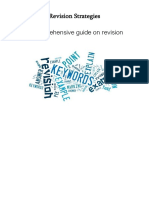 revision strategies booklet for ks4 and ks5