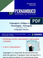 A linguagem literária..ppt