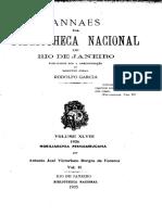 NOBLIARCHIA PERNAMBUCANA - VOLUME 02