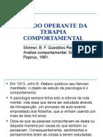 O LADO OPERANTE DA TERAPIA COMPORTAMENTAL-1