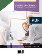 Revista- Derecho PRIVADO-2016 completa - UBP - La responsabilidad del Estado y de sus agentes y funcionarios - José Fernando Márquez - 200 PÁG.pdf