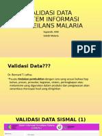 Validasi Data Sismal Dki Jakarta-Asih