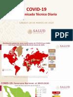 COVID-19 - Presentacion Comunicado Tecnico Diario 2020.03.28.Pptx