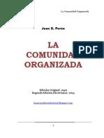 Perón - La Comunidad Organizada