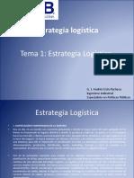 TEMA 1 Estrategia Logística