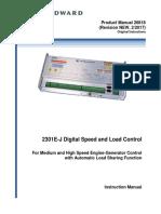 2301E-J Digital Speed and Load Control