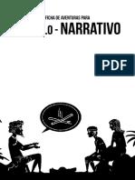 RPG SOLO NARRATIVO - fichas de aventura