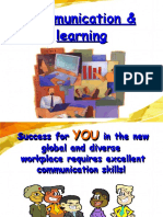 Communication and Learning (Ppt) by p.rai87@Gmail