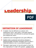 Leadership (Ppt) by p.rai87@Gmail