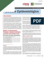 Boletim epidemiologico H1N1 2009