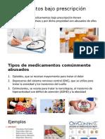 Medicamentos bajo prescripción
