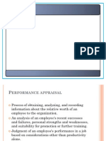 Performance Appraisal (Ppt) by p.rai87@Gmail