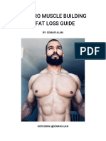 Pro Muscle Building & Fat Loss E-Book by Somair Alam