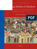 Medievalia. Shaping Markets in Holland