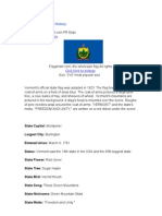 Vermont State Flag History