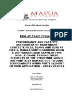 FERNANDEZ, CUA & PANDAY CE255P-D02 PROJECT