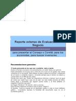 Reporte extenso de Evaluación de Negocio.doc