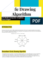 Circle drawing algorithms